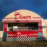 Diner blue sky