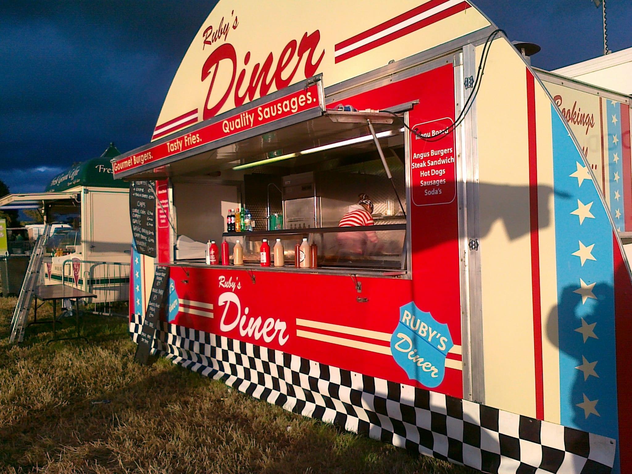Diner Side Angle 2 Event Food