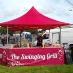 The swinging grill
